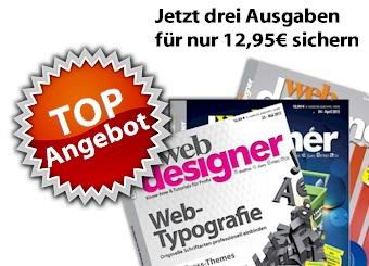der Webdesigner im Abo