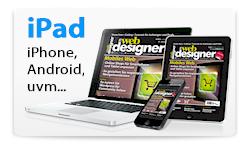 Der Webdesigner auf dem iPad