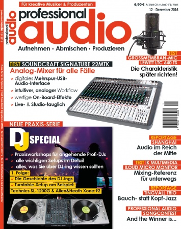 Professional audio 12/2016