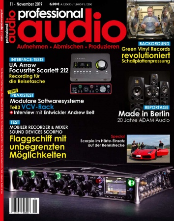 Professional audio 11/2019