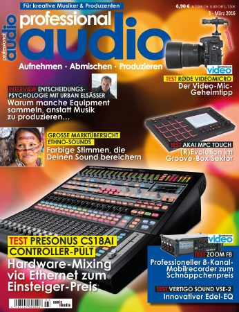 Professional audio 03/2016