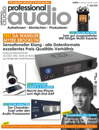 Professional audio 05/2016