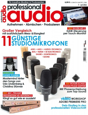 Professional audio 07/2016