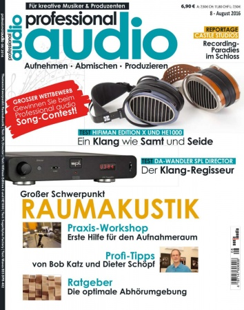 Professional audio 08/2016