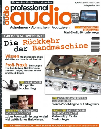 Professional audio 09/2016