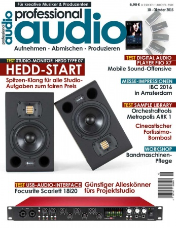 Professional audio 10/2016