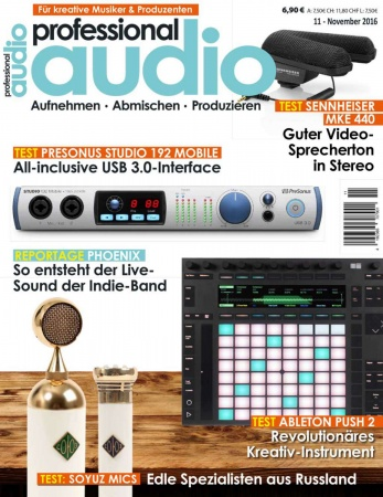 Professional audio 11/2016