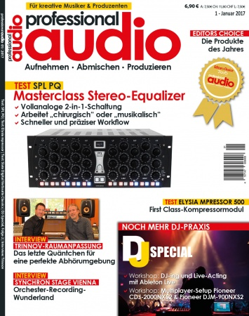 Professional audio 01/2017