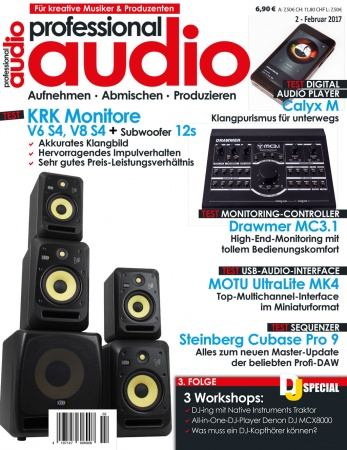 Professional audio 02/2017