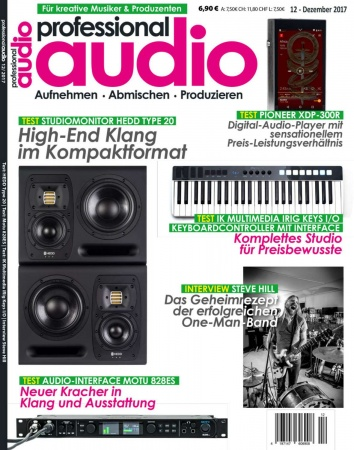 Professional audio 12/2017