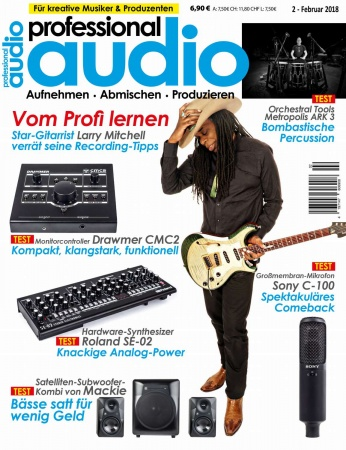 Professional audio 02/2018