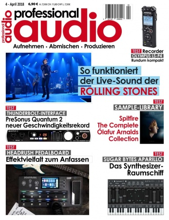 Professional audio 04/2018