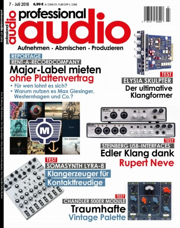 Professional audio 07/2018