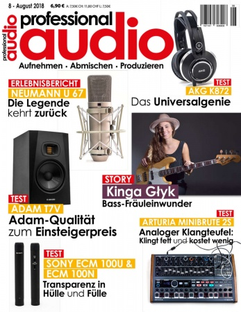 Professional audio 08/2018
