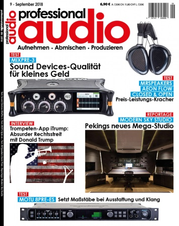 Professional audio 09/2018
