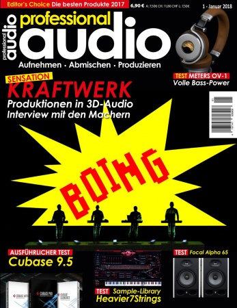 Professional audio 01/2018