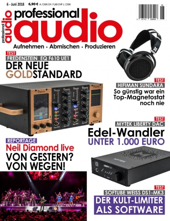 Professional audio 06/2018