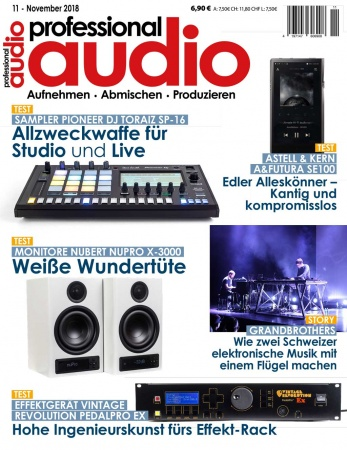 Professional audio 11/2018